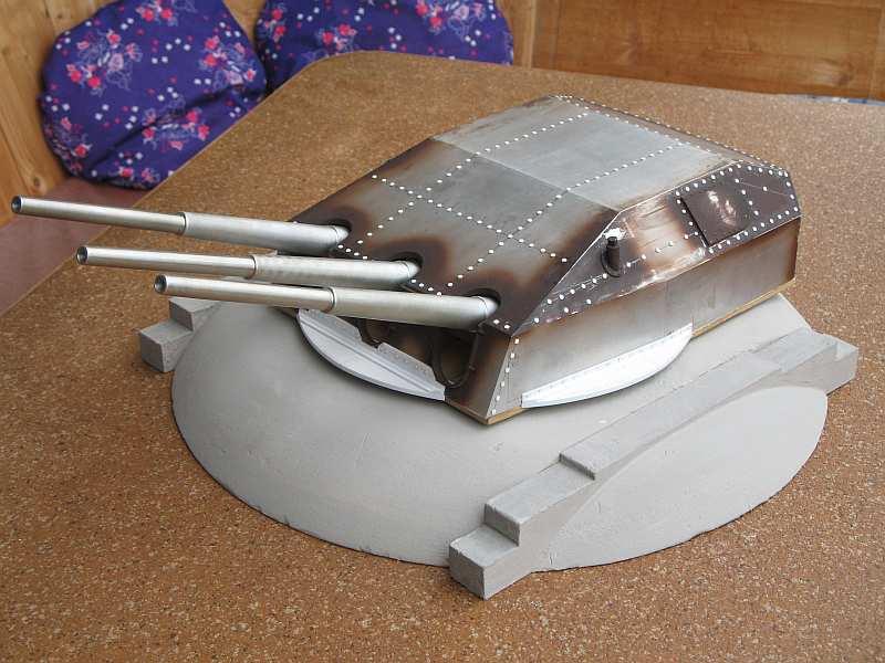 Battery Örlandet in Norway, German 28 cm triple turret from ...