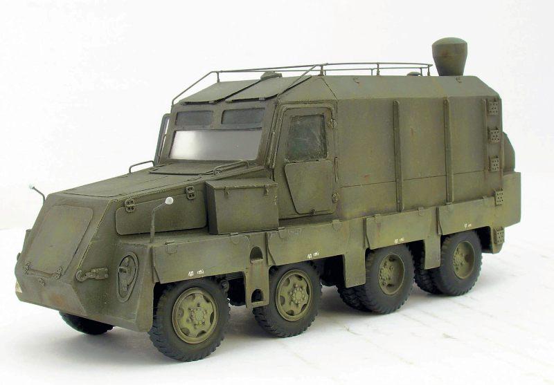 Ballistik-Messfahrzeug auf Sd.Kfz. 231 basic...