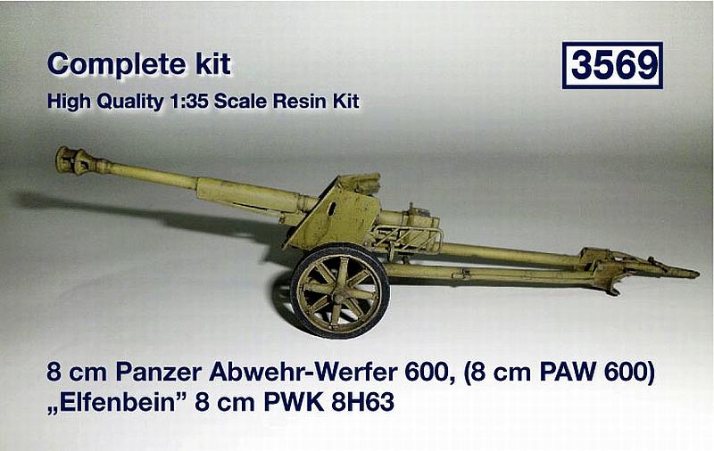 """8cm Panzer Abwehr-Werfer 600, (8cm PAW 600) """"Elfenbein"""" 8cm ..."""