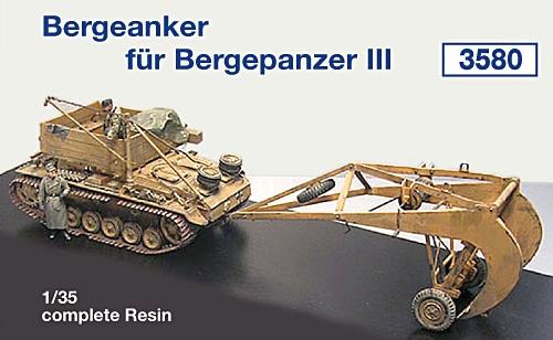 Bergeanker für Bergepanzer III...