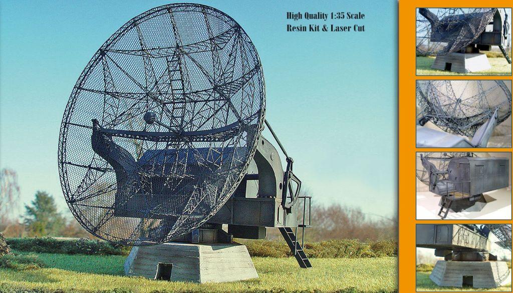 "German Radar FUSE65 ""Würzburg-Riese"" (FMG39T/R)..."