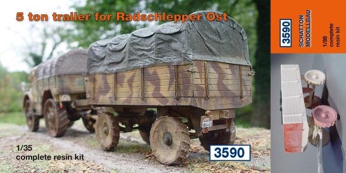 5 to. trailer für Radschlepper Ost...
