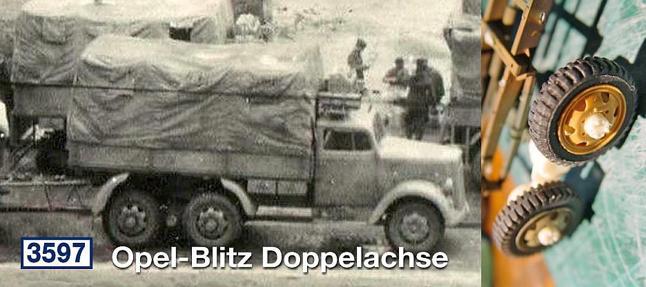 Opel-Blitz Doppelachse...
