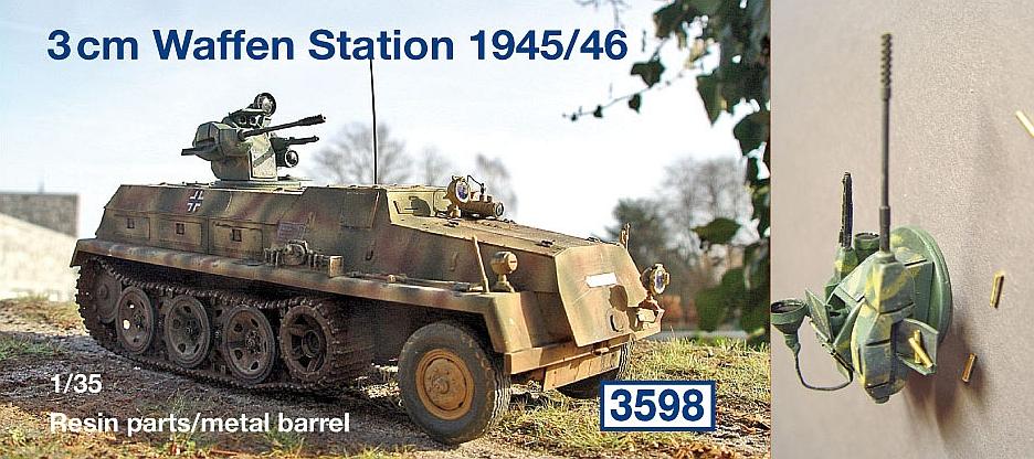 3 cm Waffen Station 1945/46...
