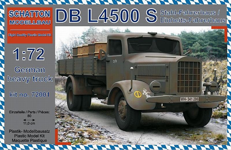 DB L4500 S; Stahl-Fahrerhaus...