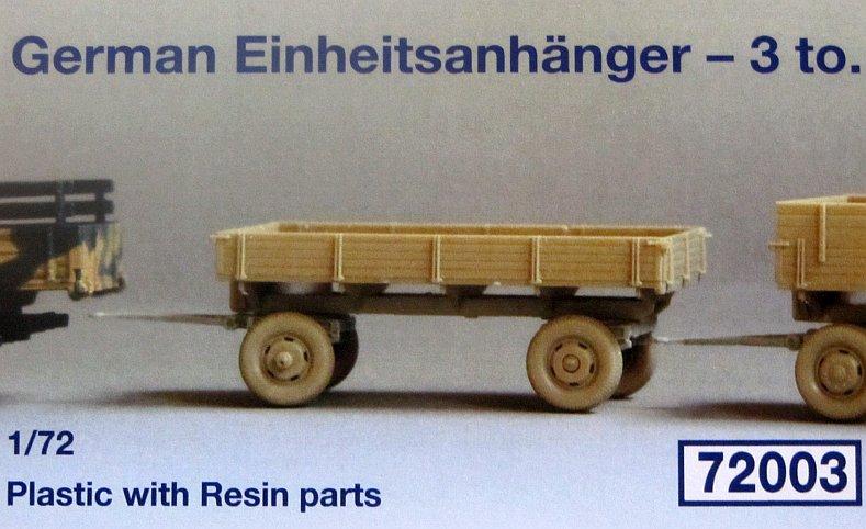 German Einheitsanhänger - 3 to....