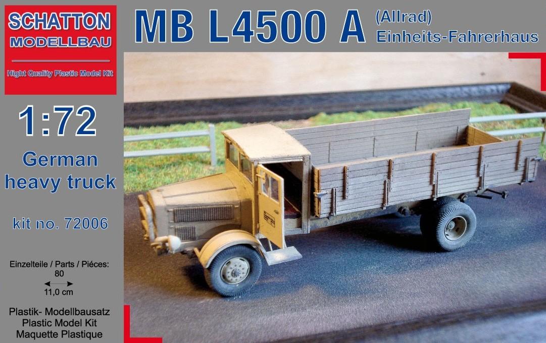 German Truck MB L4500 A (Allrad) Einheits-Fahrerhaus...