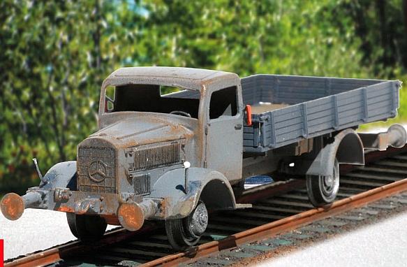MB L4500 A Railway Truck...