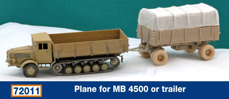Plane for MB 4500 or trailer...