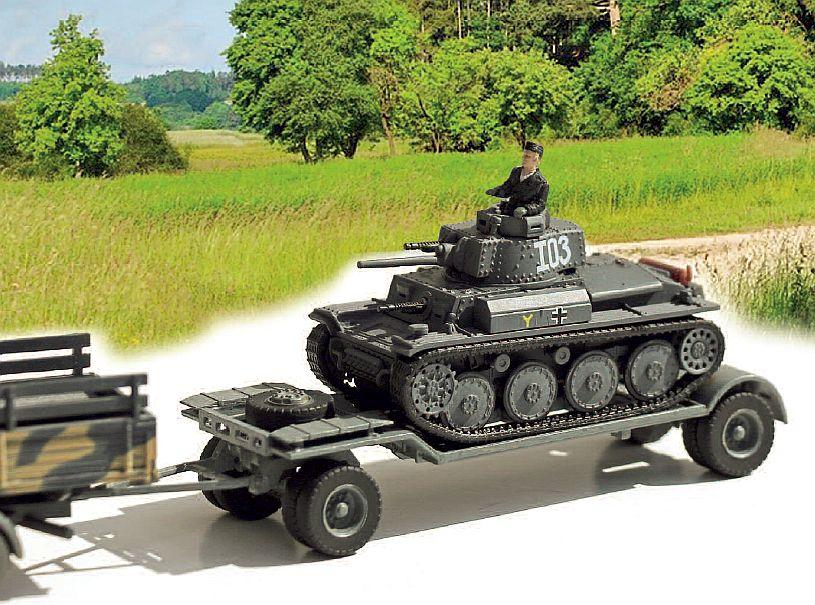 Tiefladeanhänger für Panzerkampfwagen (Sd. Ah. 115)...