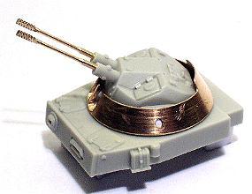 dt. 3 cm Flakp. IV. Kugelblitz mit geänd. Luken,richtiger Ob...