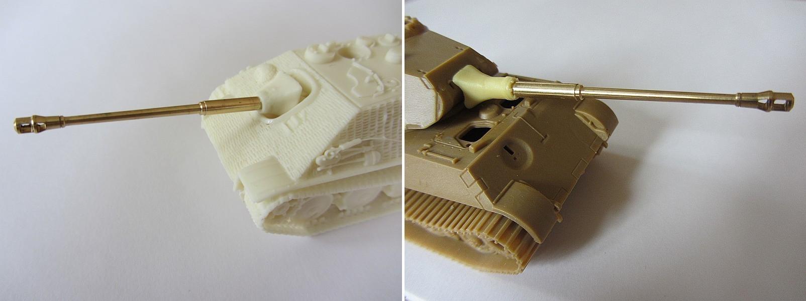 Zweiteilige 8,8 L.71 für: Trident: Jagdpanther; Artitec: Por...